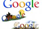 Google Halloween Logos for the Last Decade