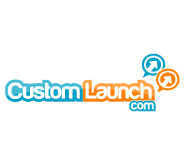 CustomLaunch Logo Design