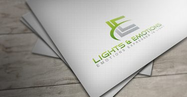 Lights and Emotions - Logo & Stationery Design