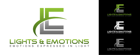 Lights and Emotions - Logo & Stationery Design-Winning