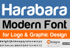 harabara-modern-font-for-graphic-design
