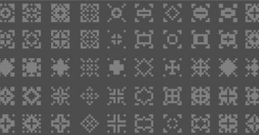 50-Free-Beautiful-Pixel-Patterns