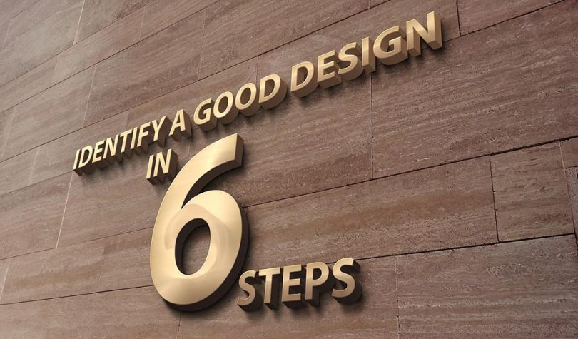 identify-good-design-6-steps