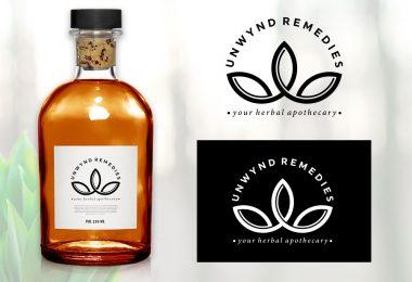 natural-herbal-remedies-logo-design