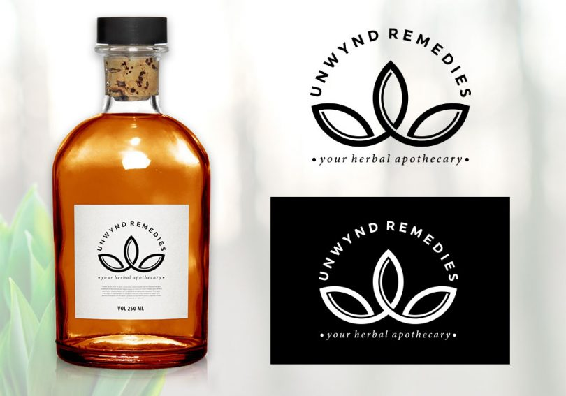 natural-herbal-remedies-logo-design