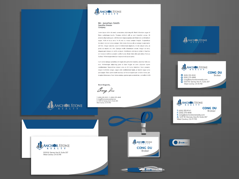 Real estate company business card stationery design 110designs design for contest real estate company business card stationery design reheart Choice Image