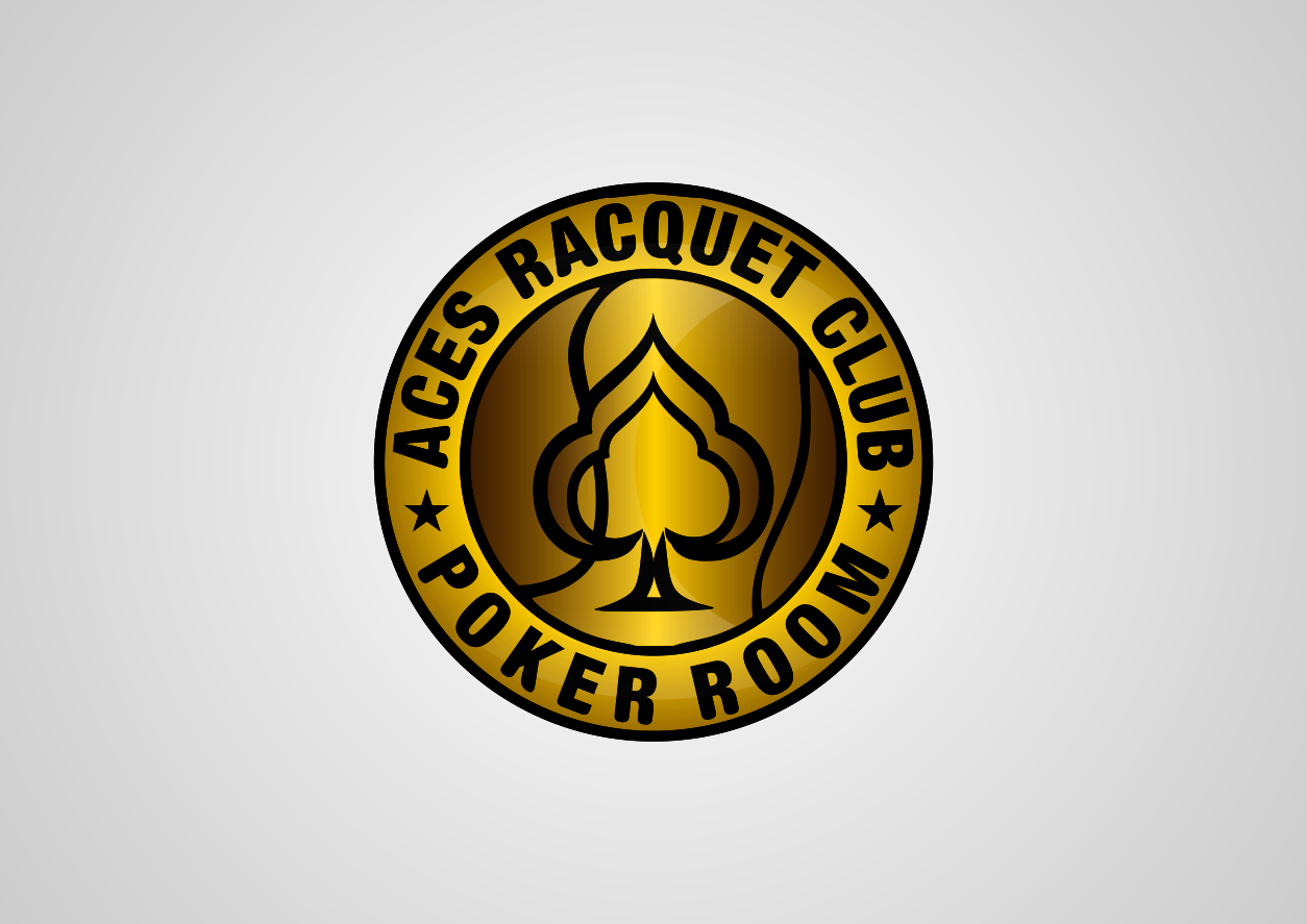Poker Room and Poker Chip Logo - 110Designs