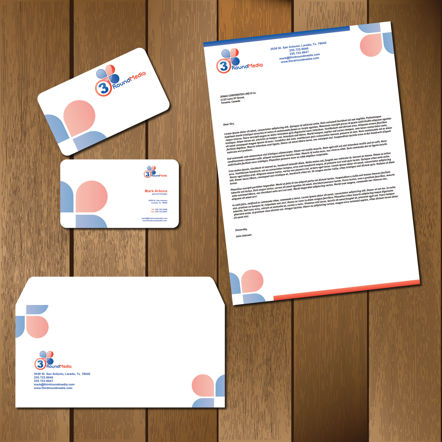 Business Card & Stationery needed