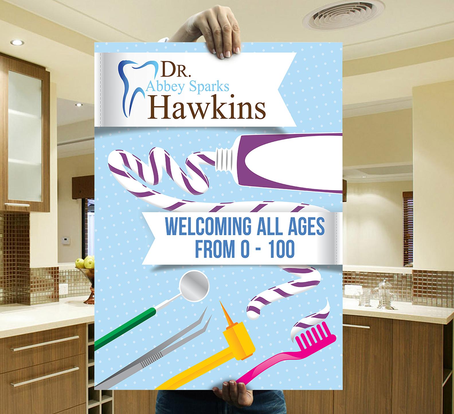 Design For Contest Dentist Advertisement Poster Board