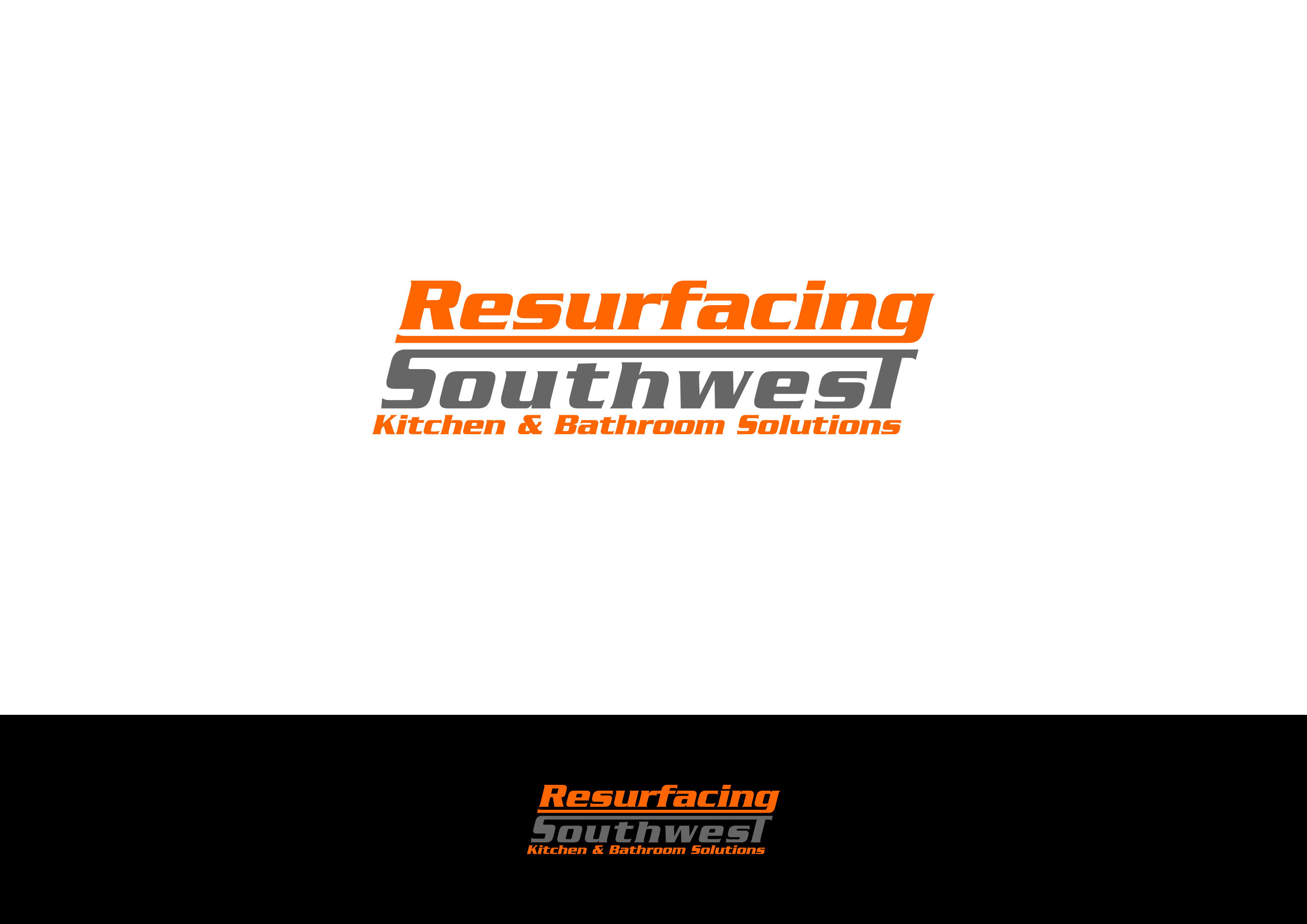 Design For Contest Kitchen And Bathroom Resurfacing Business Needs A Modern Logo