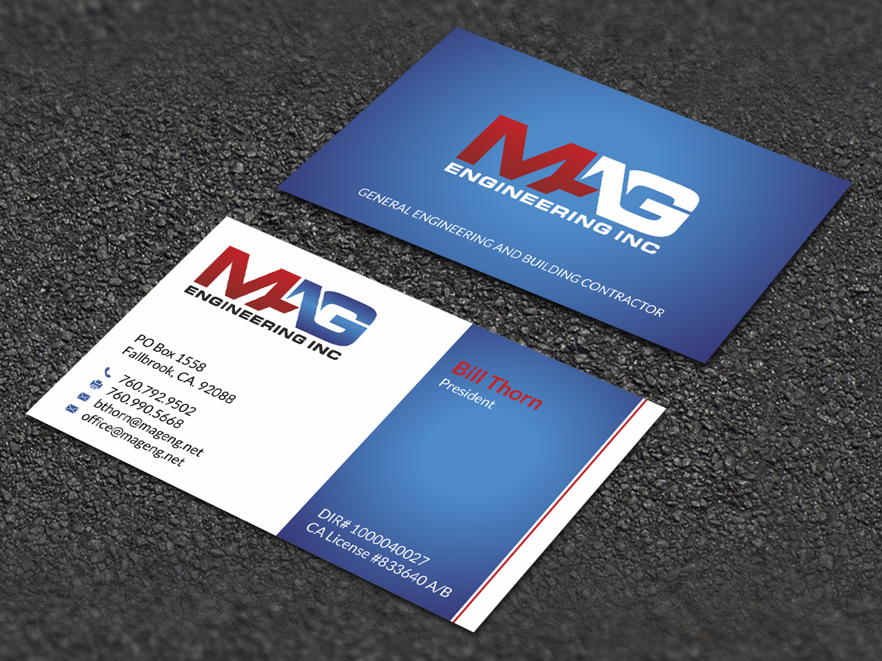 Business cards for mag engineering inc 110designs design for contest business cards for mag engineering inc magicingreecefo Images