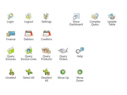 Winning design by spiderdesign for Contest: 19 Icons for an Excel Add-in