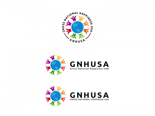 Winning design by AlphaCeph for Contest: Gross National Happiness USA - logo for non-profit