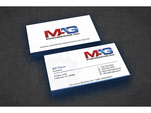 Business cards for mag engineering inc 110designs winning design by voyager for contest business cards for mag engineering inc flashek Images