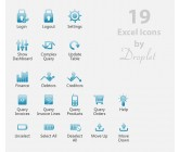 Design for Contest: 19 Icons for an Excel Add-in