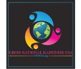Design by Abdul Khalique for Contest: Gross National Happiness USA - logo for non-profit