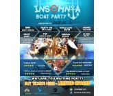 Design for Contest: Boat Party Logo & Poster Design