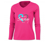 Design by BMac for Contest: SASSY BEACH WAVE & FISHING HOOK & TEE