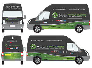 Vehicle graphics for ALL-TRADES