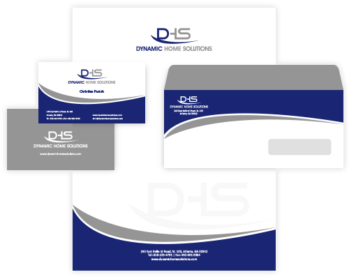 professional business card & stationery design