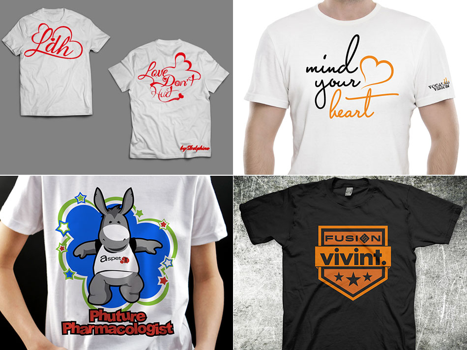 perfect t-shirt, closthing & merchandise designs