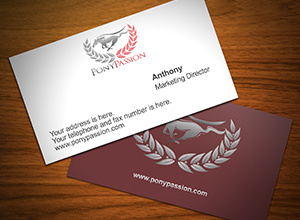Pony Passion Business Card